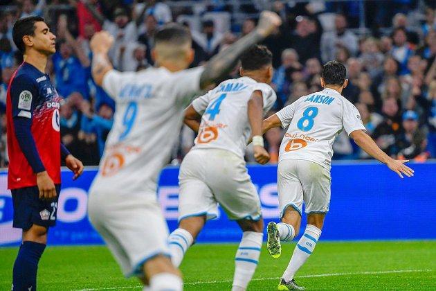 Ligue 1: Marseille grimpe sur Lille pour toucher le podium