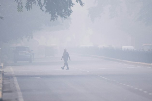 New Delhi continue de tousser dans une pollution asphyxiante