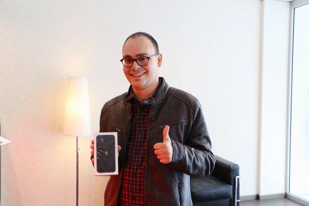 Le Petit-Quevilly. Maxime a remporté son iPhone 11 sur Tendance Ouest