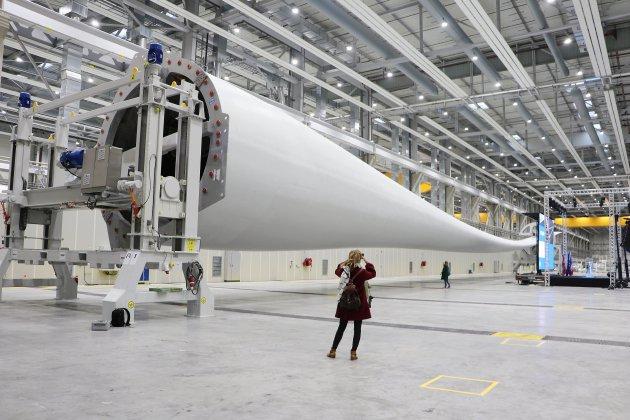 L'usine de pales d'éoliennes LM Wind inaugurée