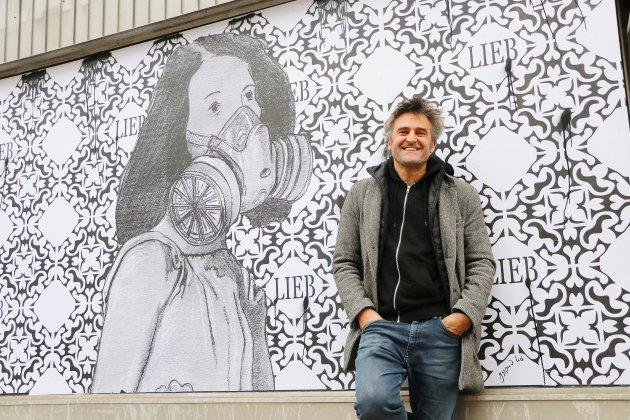 Du street-art pour faire réfléchir aux conséquences de Lubrizol