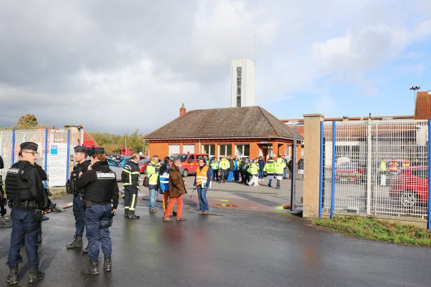 Exercice de sécurité civile sur un site industriel classé Seveso