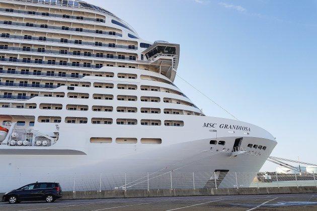 Le Havre. MSC inaugure son plus gros paquebot [Photos]