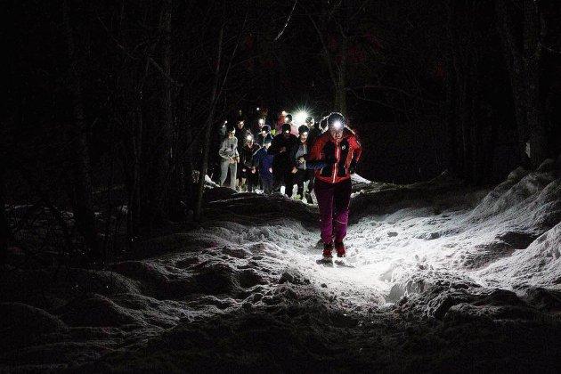 Le premier trail nocturne des Grands ducs