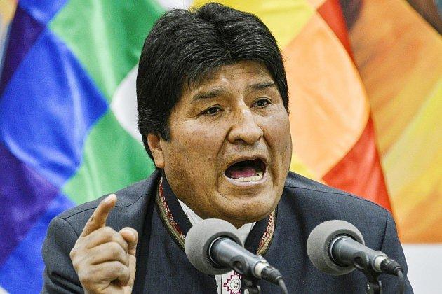 Bolivie: mutineries dans la police, Morales convoque une réunion d'urgence
