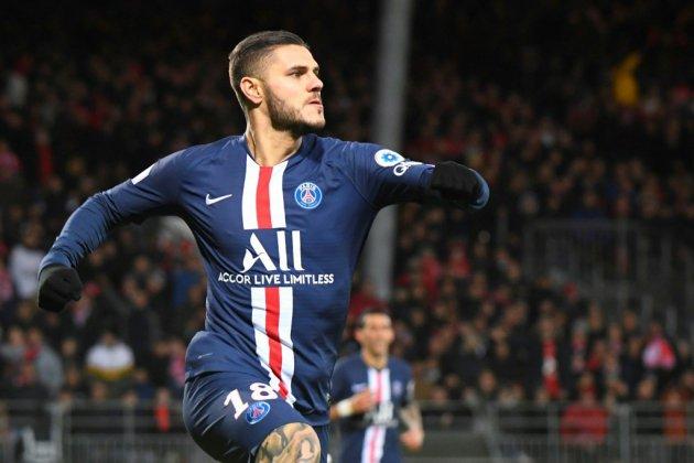 L1: Icardi porte le PSG, Monaco avance, pas Lille