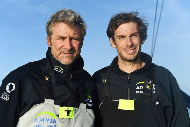 Dalin et Eliès (Apivia) remportent la Transat Jacques Vabre en classe Imoca