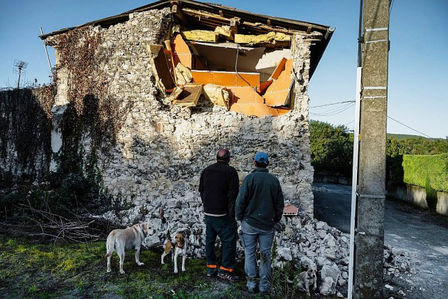 A peine remis du séisme, les habitants du Teil entament leur chemin de croix administratif