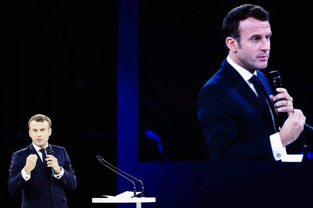 Macron dans la Marne en inspecteur des réformes
