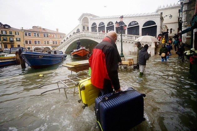 Nouvelle alerte météo attendue samedi à Venise