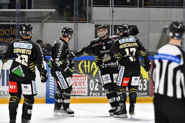 Hockey : les Dragons atomisent Anglet