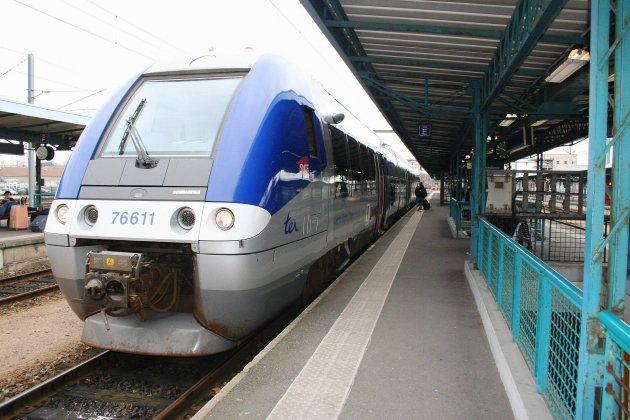 Une femme percutée par un train