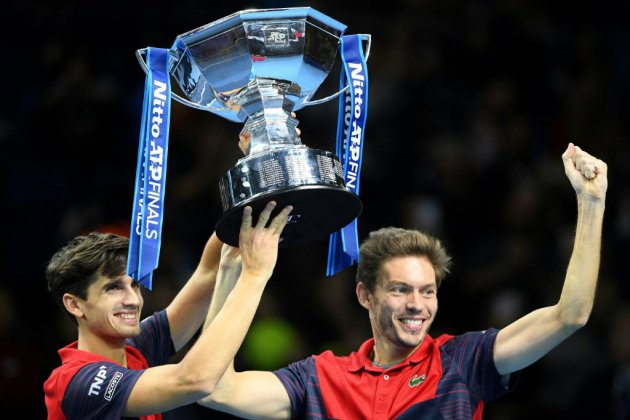 "Masters: Herbert/Mahut tiennent leur ""happy end"""