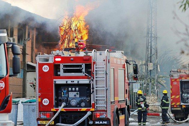 Deux incendies dans une exploitation agricole