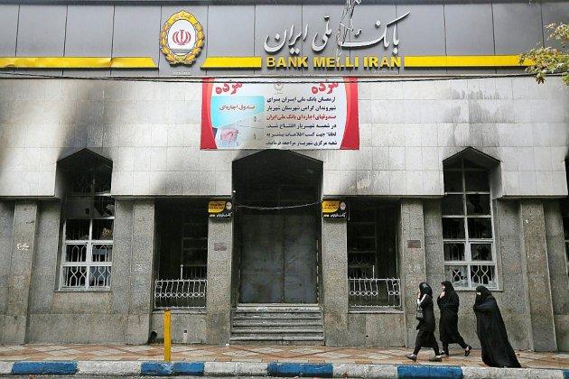"""Emeutes en Iran: l'Etat affirme sa victoire contre un """"complot"""" étranger"""