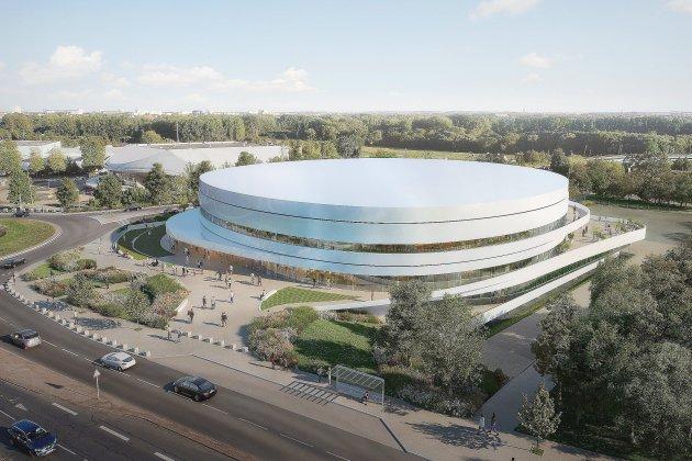 Le nouveau Palais des sports dévoilé