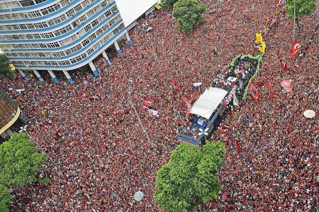 Copa Libertadores: les héros de Flamengo fêtés comme au carnaval