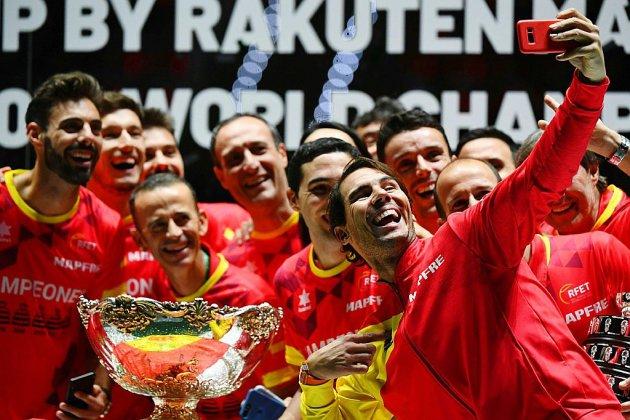 Coupe Davis: Nadal offre à l'Espagne son 6e Saladier d'Argent