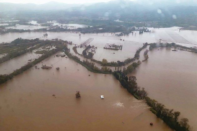 "Intempéries: le Var maintenu en vigilance orange ""inondation"""