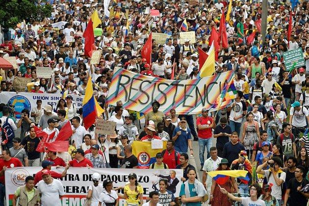 La Colombie au 7e jour de manifestations avec une nouvelle grève peu suivie