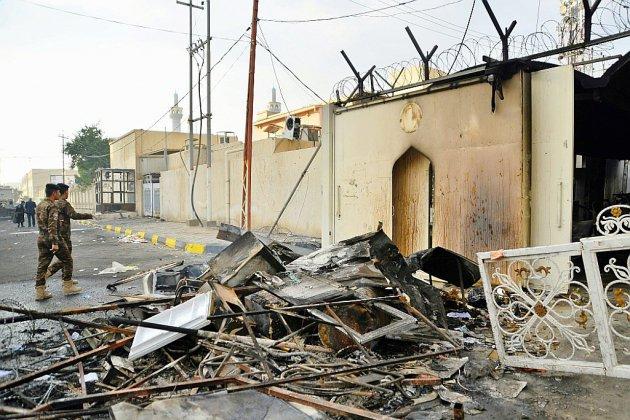 Consulat iranien incendié en Irak: au moins 13 nouveaux morts