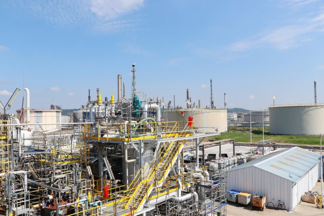 Exxon Mobil: redémarrage d'unité
