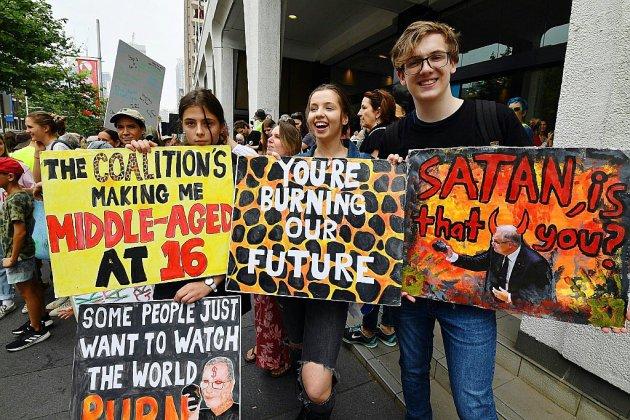 Coup d'envoi à Sydney des manifestations contre le réchauffement climatique