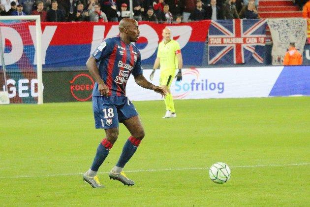 Malik Tchokounté sauve Caen à Guingamp