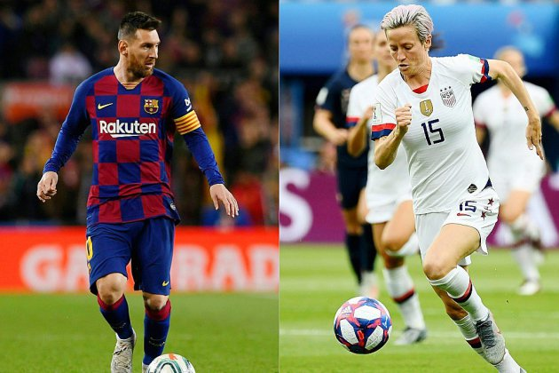 Ballon d'Or: Rapinoe grande favorite, Messi face aux stars de Liverpool