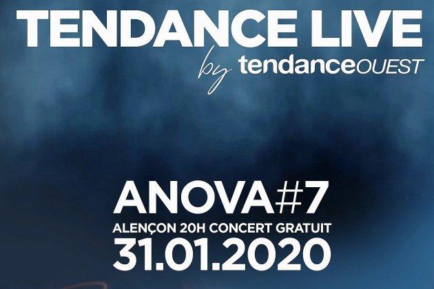 Le Tendance Live Anova aura lieu le 31 janvier 2020!
