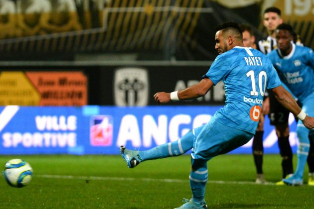 Ligue 1: Marseille, solide dauphin, s'impose sans forcer à Angers