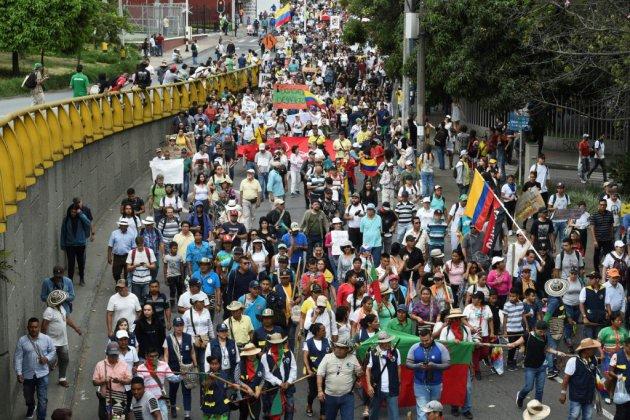 Colombie: plusieurs milliers de manifestants contre le gouvernement d'Ivan Duque
