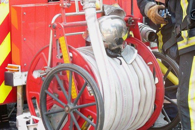 400 tonnes de paille détruites dans un incendie