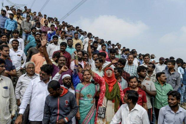 Les quatre suspects du viol qui a révulsé l'Inde abattus par la police