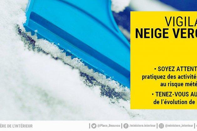 Météo : vigilance jaune neige-verglas