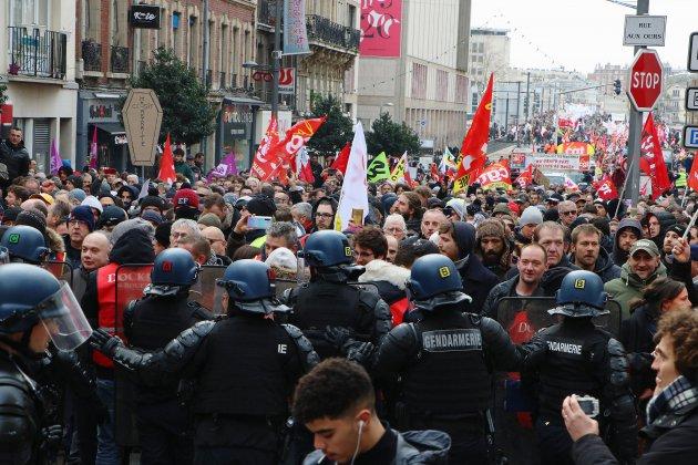 Rouen. Entre 5000 et 20000 manifestants dans les rues