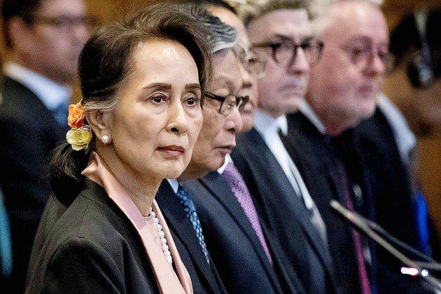 """""""Génocide"""" rohingya: la CIJ donne la parole à Aung San Suu Kyi"""