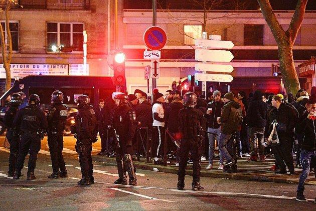 C1: incidents près du Parc des Princes avant PSG-Galatasaray