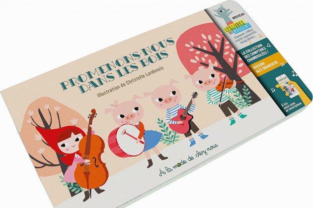 Un livre de comptines et une application numérique et musicale