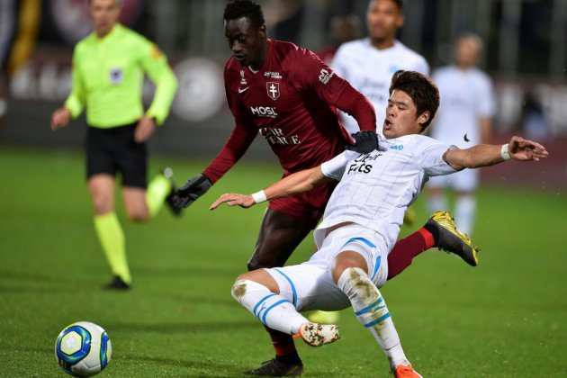 Ligue 1: fin de série pour Marseille, accroché à Metz