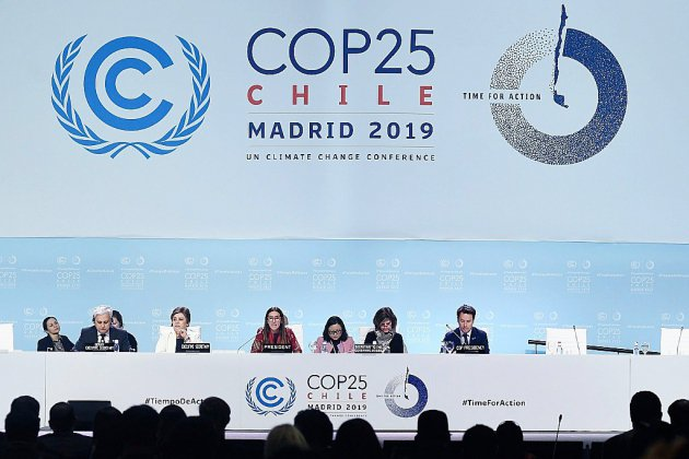 Climat: dernière ligne droite pour tenter d'éviter un naufrage de la COP25