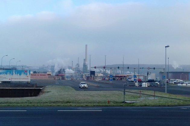 D'importants dégâts provoqués par l'incendie de la raffinerie Total
