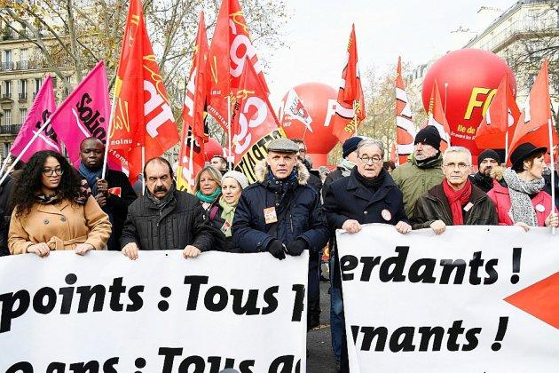Retraites: tous les syndicats dans la rue avant des réunions cruciales à Matignon