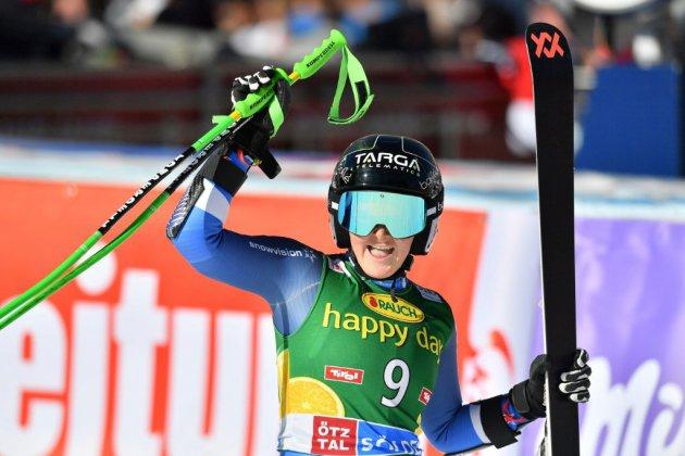 Ski alpin: Alice Robinson pour s'installer parmi les grandes à Courchevel