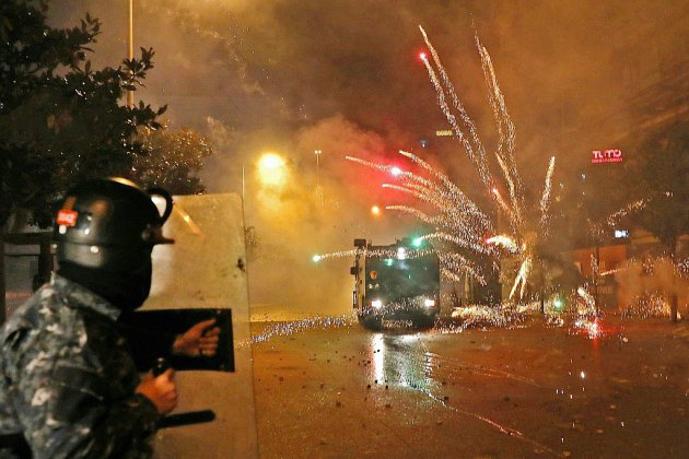 Liban: des dizaines de blessés dans des heurts entre policiers et des militants chiites