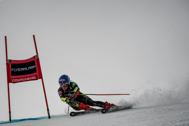 Ski alpin: Shiffrin hors du coup, chamboule tout à Courchevel