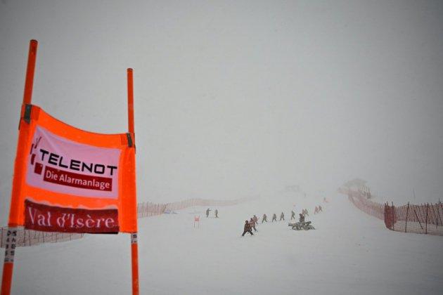 Ski alpin: la descente dames de Val d'Isère annulée