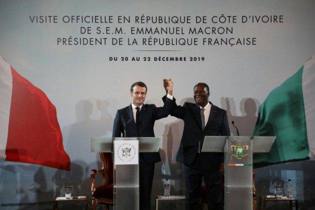 Economie et affaires militaires au programme de Macron à Bouaké et Niamey
