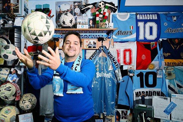 Le musée Maradona à Naples, un trésor en sous-sol