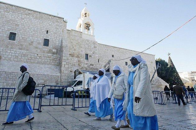 Bethléem accueille des pèlerins du monde entier pour Noël